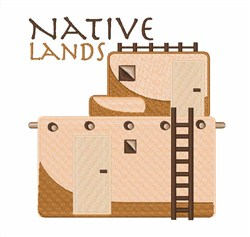 Native Lands embroidery design