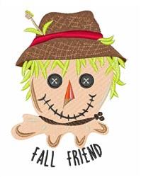Fall Friend embroidery design