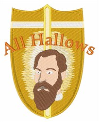 All Hallows embroidery design