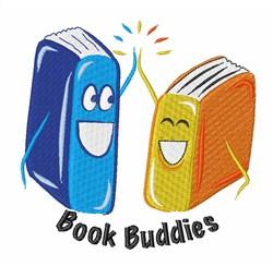 Book Buddies embroidery design