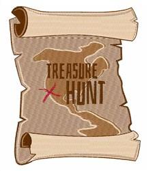 Treasure Hunt embroidery design