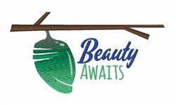 Beauty Awaits embroidery design