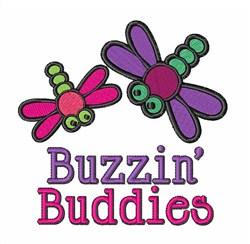 Buzzin Buddies embroidery design