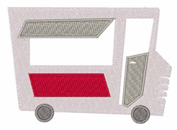 Hot Dog Stand embroidery design