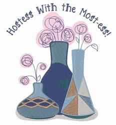 Hostess embroidery design