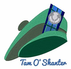 Tam O Shanter embroidery design
