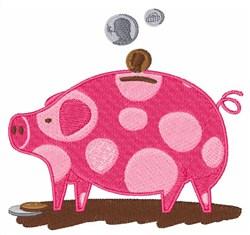 Free Machine Embroidery Designs Piggy