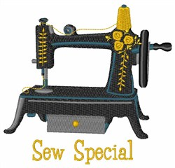 Sew Special embroidery design