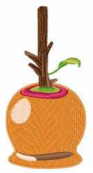 Caramel Apple embroidery design