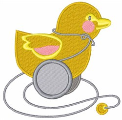 Toy Duck embroidery design