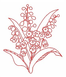 Lily Of Valley embroidery design