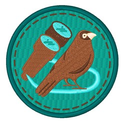 Bird Watching embroidery design