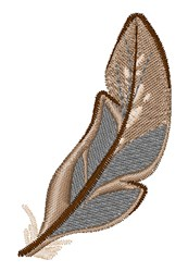 Bird Feather embroidery design