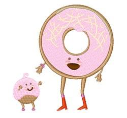 Doughnut & Hole embroidery design