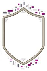 Crest Shield embroidery design
