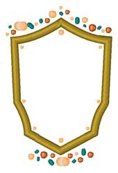 Shield Crest embroidery design