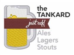 The Tankard embroidery design