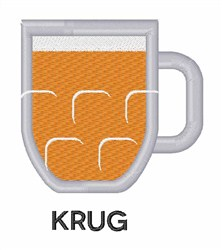 Krug embroidery design