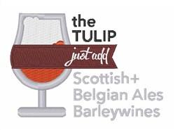 The Tulip embroidery design