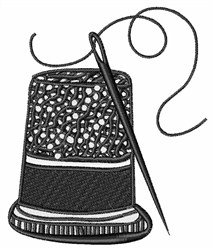 Thimble & Needle embroidery design
