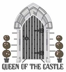 Castle Door embroidery design