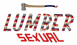Lumber Sexual embroidery design