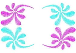 Mod Swirls embroidery design
