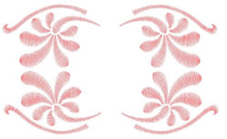 Swishes embroidery design