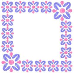 Frame Border embroidery design