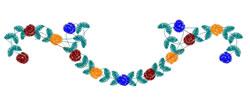 Floral Border embroidery design
