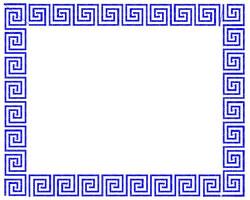 Greek Key Frame Embroidery Designs Machine Embroidery