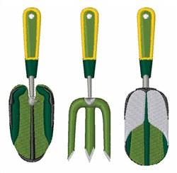 Garden Tools embroidery design