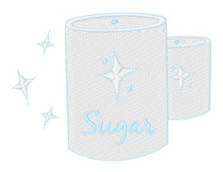 Sugar Canister embroidery design