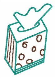 Tissue Box embroidery design