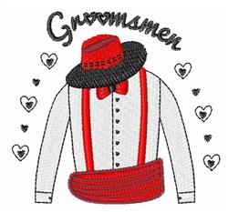 Groomsmen embroidery design