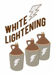 White Lightning Jugs embroidery design