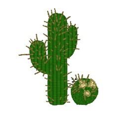 Suargo Cactus embroidery design