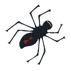 Black Widow embroidery design