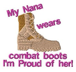 Proud Of Nana embroidery design