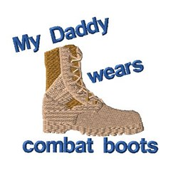 My Daddy embroidery design