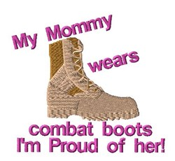 Proud Of Mommy embroidery design