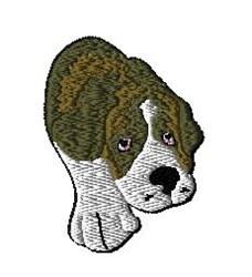 Saint Bernard embroidery design