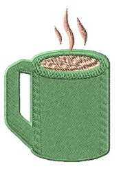 Coffee Mug embroidery design