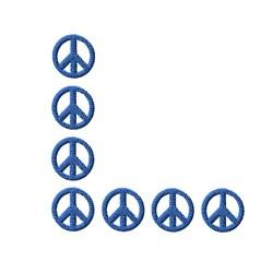Peace Corner embroidery design