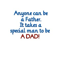 Special Dad embroidery design