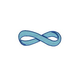 Infinity Ribbon embroidery design