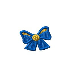 Tiny Bow embroidery design