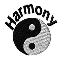 Harmony embroidery design