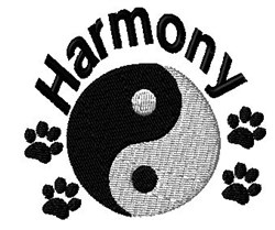 Harmony Paw embroidery design