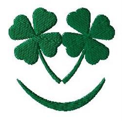 Irish Smile embroidery design